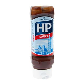 HP Original Brown Sauce Top Down 450g