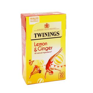 Twinings Lemon & Ginger 20 Tea Bags 30g
