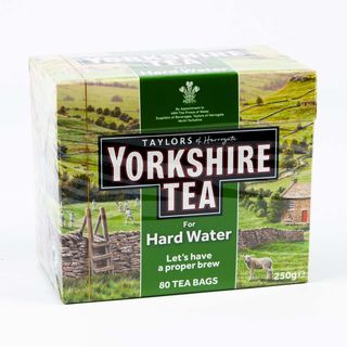 Taylors of Harrogate Yorkshire for Hard Water 80 Tea Bags 250g