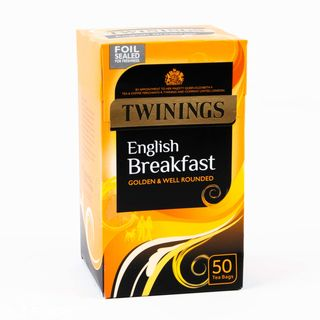 Twinings English Breakfast 50 Tea Bags 125g