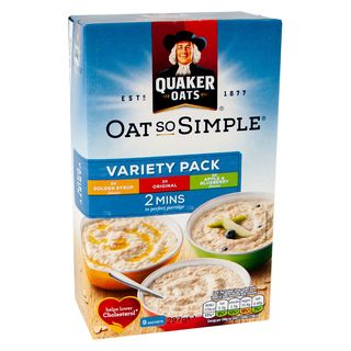 Quaker Oat So Simple - Variety 9 Sachets 297g