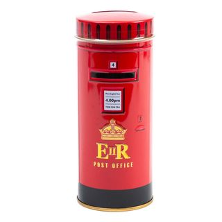 New English Teas - English Afternoon Tea 14 Tea Bags - Post Box Tin