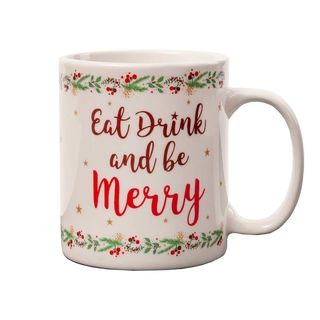 Coffee Mug - Eat Drink and be Merry
