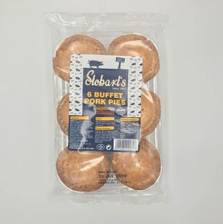 Stobarts Pork Pie Small 6 Pack