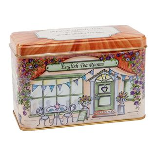 New English Teas - English Afternoon Tea 40 Tea Bags - English Tea Room Tin