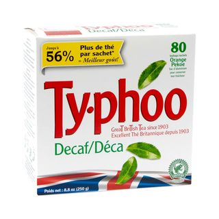 Typhoo Decaffeinated Tea - 80 Tea Bags - 250g