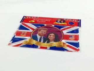 Royal Wedding - Flag Bunting - Harry & Meghan - 8 Flags á 12 x 8