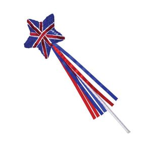 Union Jack Sequin Wand - Star