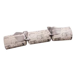 Single Christmas Cracker White 14/34cm