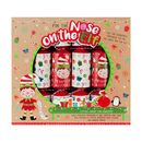 Christmas Cracker 6 Pack - Pin the Nose on the Elf -...