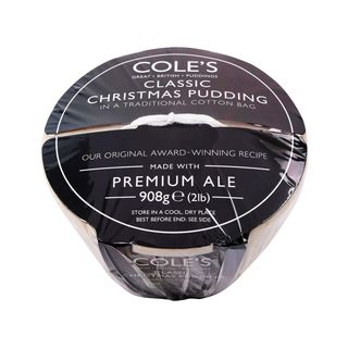Coles Classic Christmas Pudding in a Traditional Cotton Bag 908g