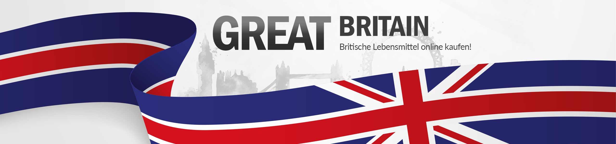 Englische & britische Lebensmittel online kaufen  British Shopping
